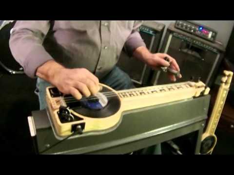 Steel Guitar Rag On A 3 String Lap Steel By Tim Wallis