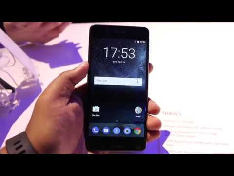 Hindi | Nokia 5 India Hands on, Camera, Features, Price