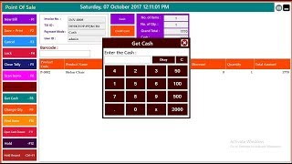 This retail pos system gst is one of the best software for billing in grocery stores, shops etc. developed...