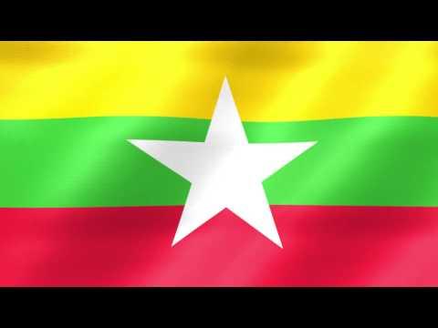 Myanmar Flag 001