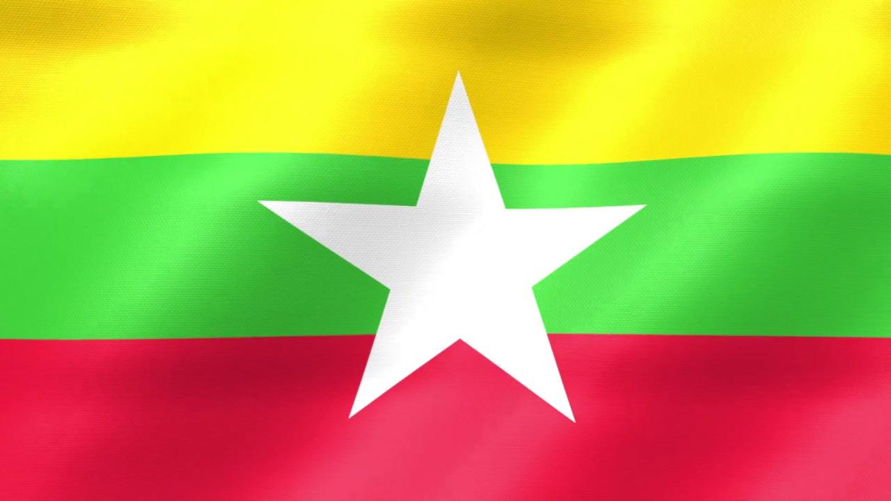 Myanmar Flag 001 YouTube