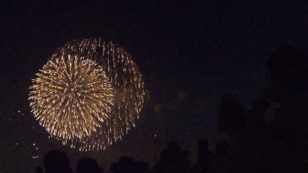 [HD 1080p]GoPro HERO3で花火大会を撮影してみた 4 / Fireworks video by GoPro HERO3 4