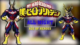 UNBOXING MY HERO ACADEMIA - BANPRESTO - AGE OF HEROES - ALL MIGHT FIGURE