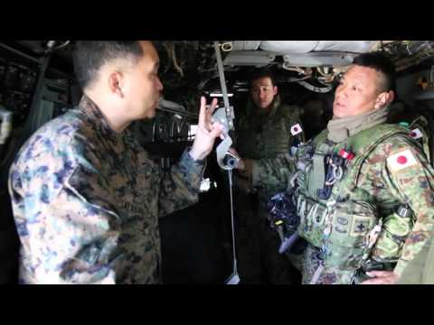 Exercise Iron Fist 2016: MV22 CASEVAC Training