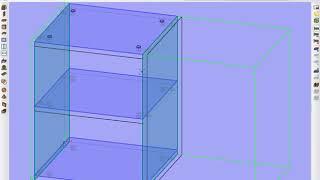 Базис Мебельщик 8. Создание шкантов
