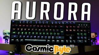 Cosmic Byte Aurora Mechanical Keyboard