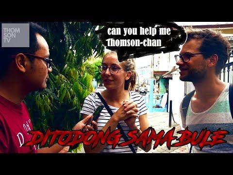 dicegat bule di kota malang  #JUMATRANDOM [Turn On the Caption for sub]
