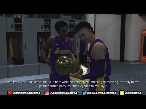 NBA 2K18 MyCareer - NBA Finals Champions! What Happens When You Win The NBA Championship!