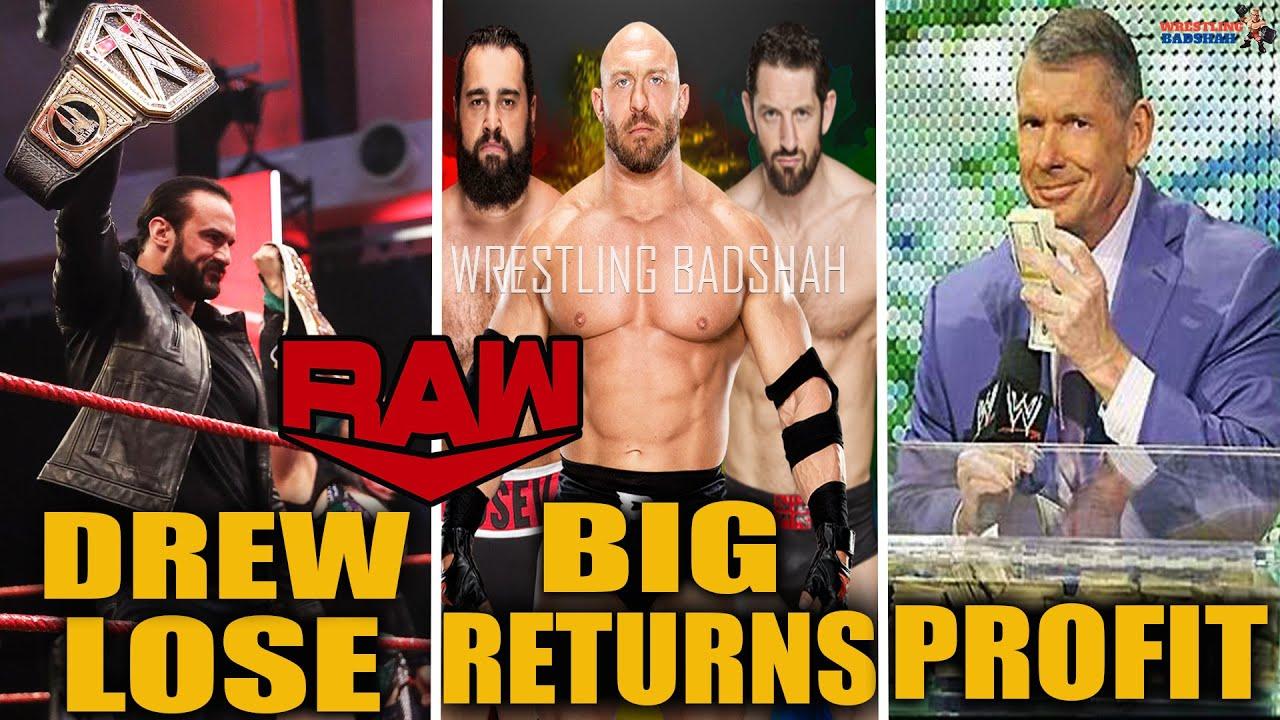 Wade Barrett & Rusev Returns?! Ryback AEW?! Vince McMahon Big Profit! Drew Lose - WWE Raw Highlights
