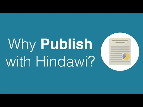 Why Publish with Hindawi?