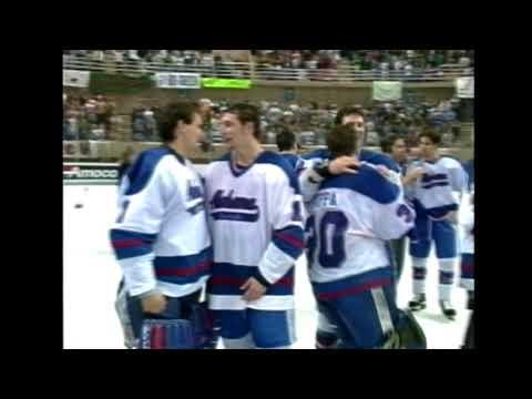UAH Hockey 1996 NCAA Division 2 National Championship Highlights