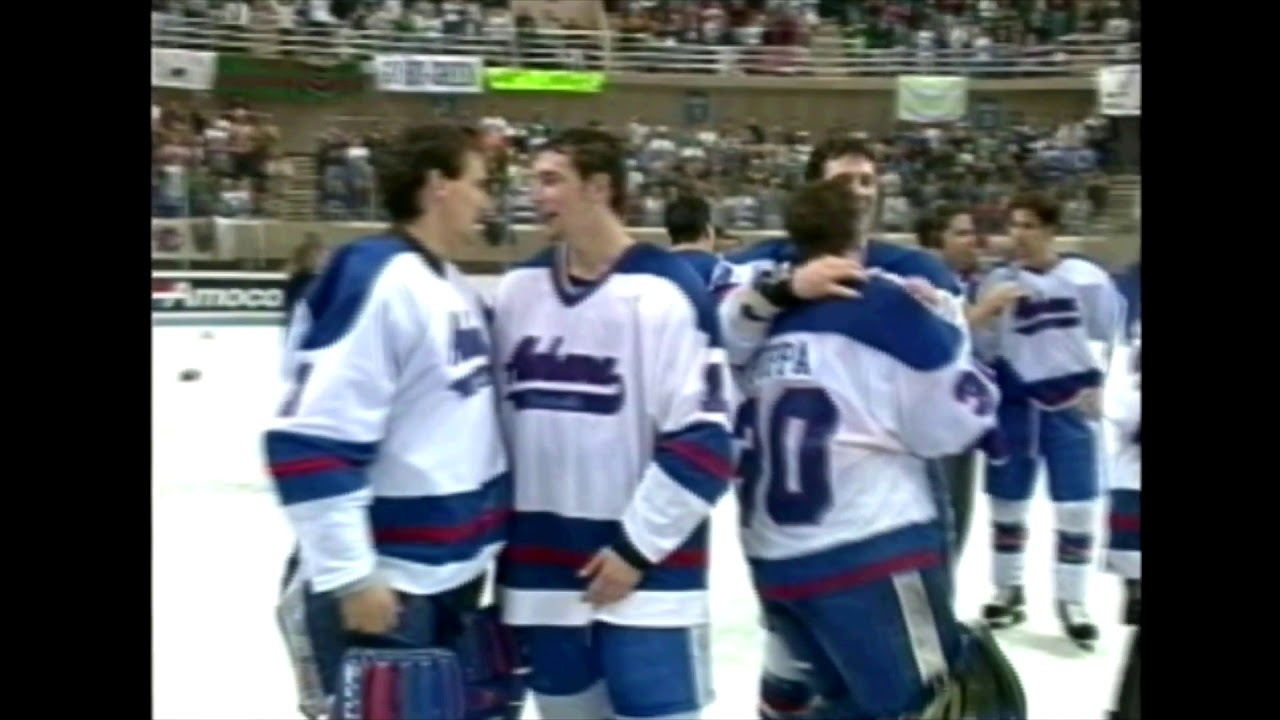 2a43311a4 UAH Hockey 1996 NCAA Division 2 National Championship Highlights ...