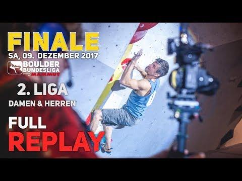 Finale – Boulder Bundesliga 2017 – 2.Liga Damen/Herren