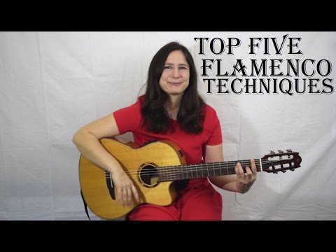 Top five Flamenco guitar techniques ✔