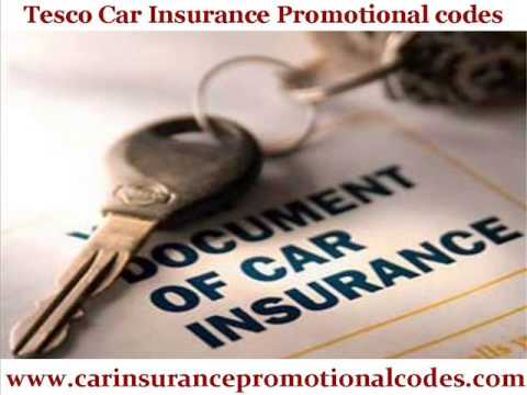 Tesco Car Insurance Promotional codes