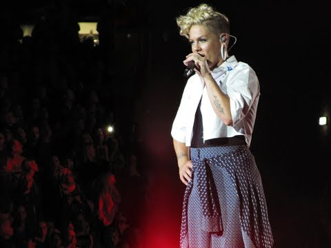 Pink 'What about us' live Berlin,...