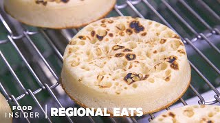 How English Crumpets Are Made At Europe's Biggest Bakery | Regional Eats