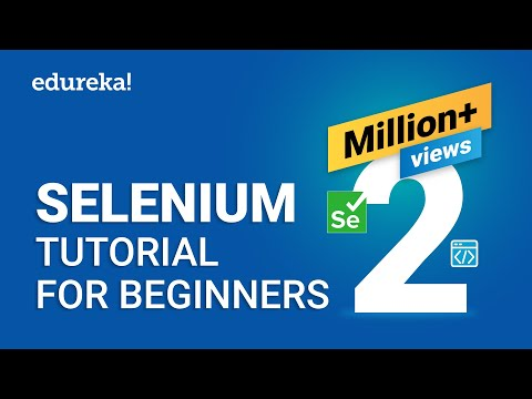Selenium Tutorial For Beginners | What Is Selenium? | Selenium Automation Testing Tutorial | Edureka thumbnail