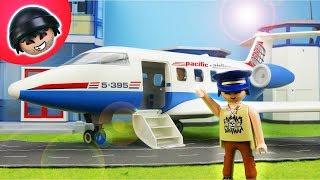 Karlchen wird Pilot! Playmobil Polizei Film - KARLCHEN KNACK #142