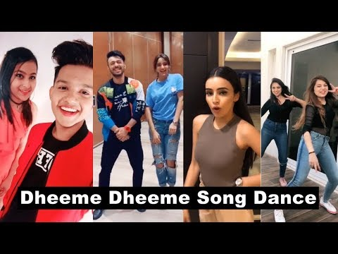 Dhemme Dheeme Song Tiktok Video | Tony Kakkar, Riyaz, Ankita