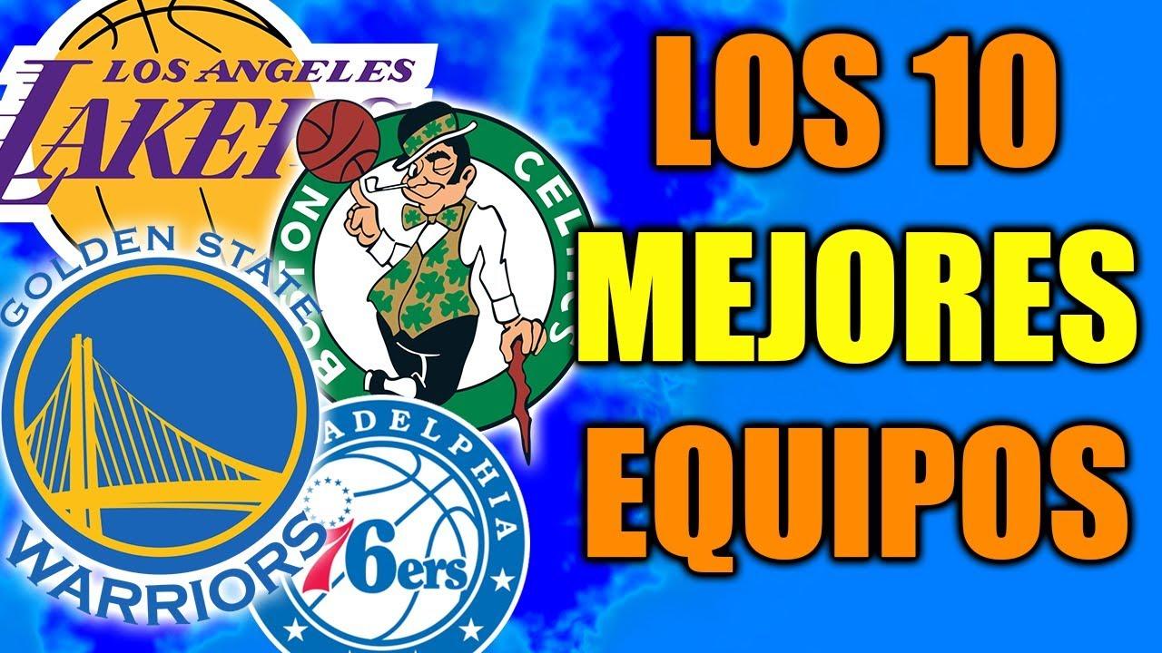 a151e227ea89d LOS 10 MEJORES EQUIPOS DE LA NBA - YouTube