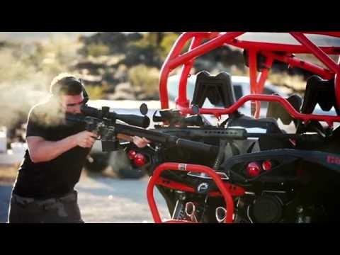 Dan Bilzerian proving guns in desert streaming vf