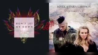 MNEK & Zara Larsson x The Chainsmokers ft. Daya - Don't Forget Me (Mixed Mashup)