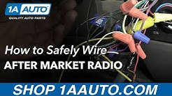 Do's and Dont's of After Market Car Stereo Wiring