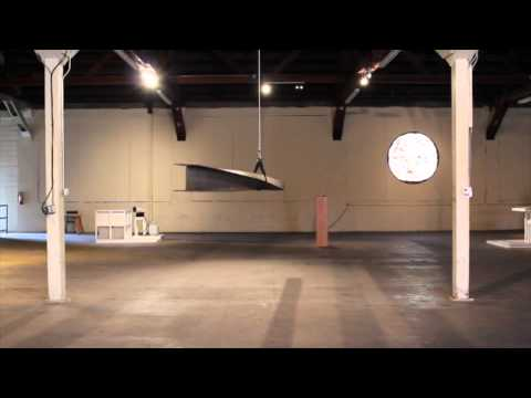 Time lapse. Eric Wesley, Some Work, 2015. I Beam U Channel.