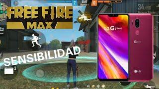 SENSIBILIDAD PERFECTA PARA EL LG G7 THINQ (FREE FIRE MAX) highlights