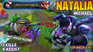 Natalia Perfect Timing Skill, Pro Natalia Top Global, Natalia Top GLobal 2020, By Michael. | MLBB