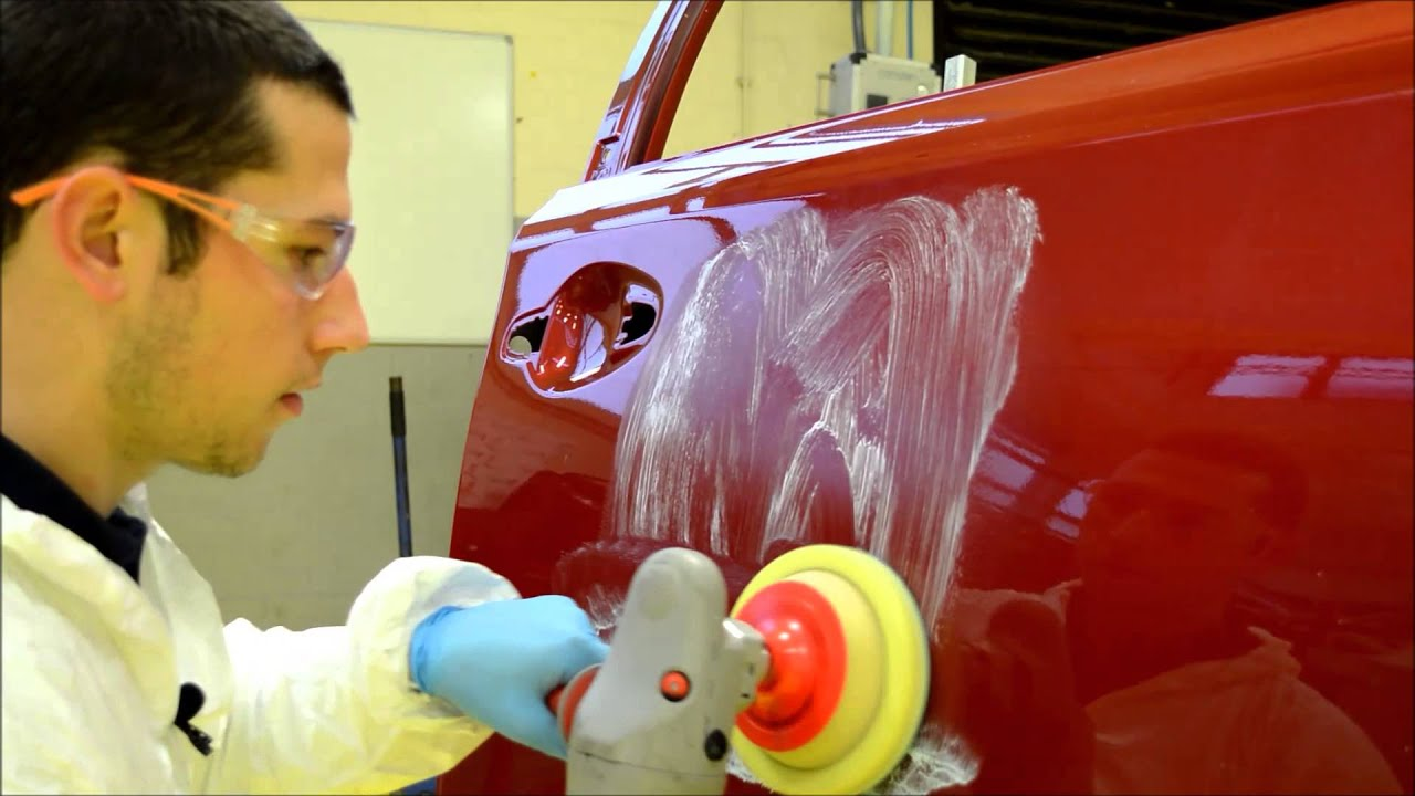 How to spray clear coat without orange peel - Removing Orange Peel The Easy Way Using Far Cla G3 And 3m Machine Polisher Youtube