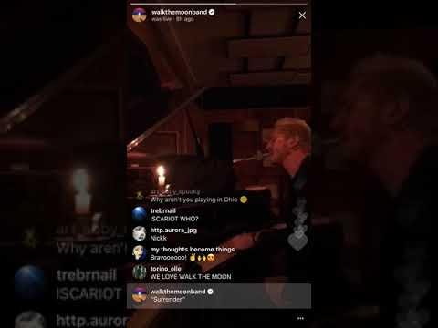 "WALK THE MOON - ""Surrender"" Instagram Live Stream"