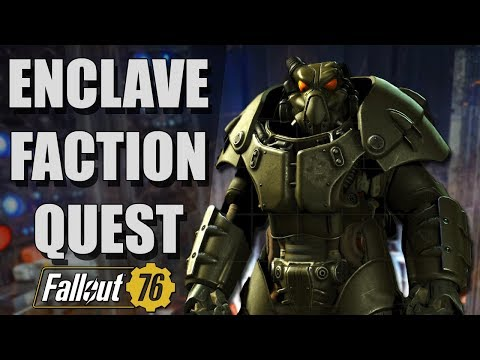 Joining the ENCLAVE FACTION in Fallout 76 thumbnail