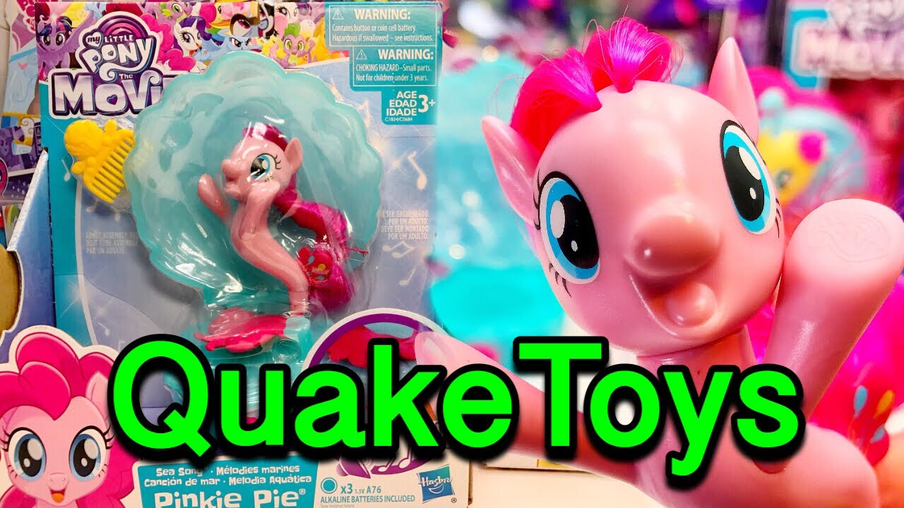 My Little Pony The Movie Sea Song Musical Happiest Pinkie Pie MLP SeaPony  With Movie Songs QuakeToys 76d8a26555