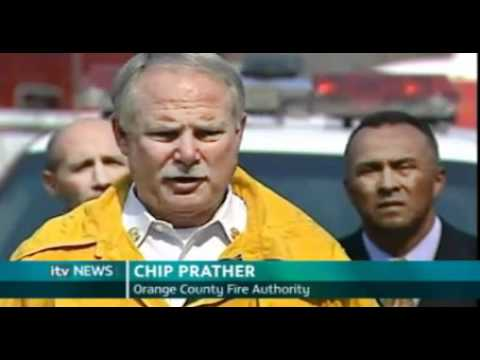 Chris Howse - ITV News: California Wildfires