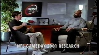 NFL gameday 2k1  ft. Ed 'Too Tall' Jones [PS2 commercial]