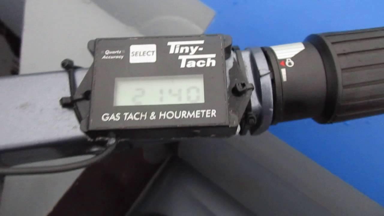 самодельный тахометр для бензопилы
