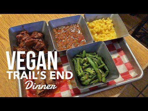 Vegan Dinner Review of Trail's End in Disney's Fort Wilderness Resort & Campground at Disney World