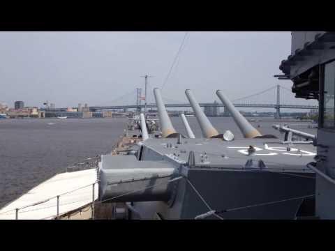 Trip to Battleship New Jersey Museum & Memorial in Camden, New Jersey