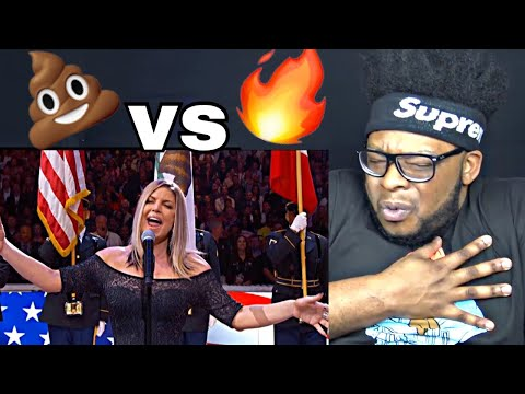 Fergie Performs The US National Anthem 2018 NBA All Star Game REACTION!!
