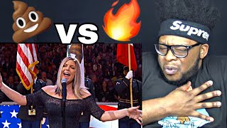 Fergie Performs The US National Anthem 2018 NBA All Star Game Fergie Singing REACTION!!