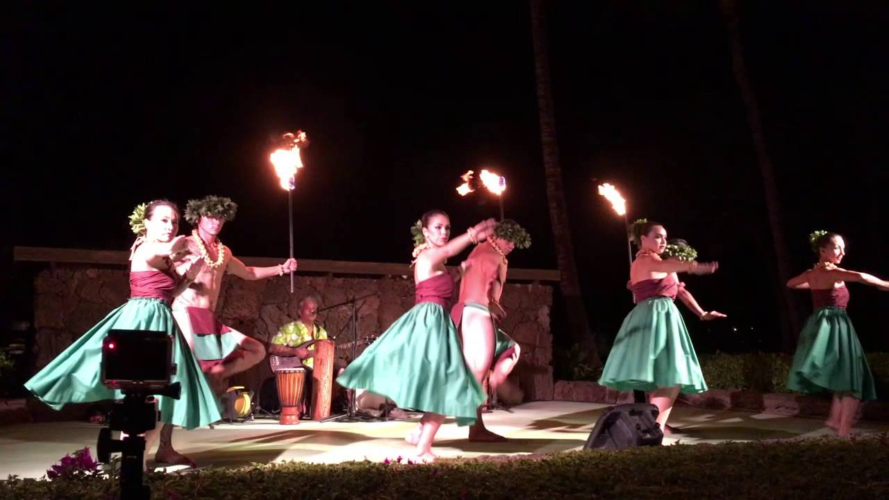Waikoloa Beach Marriott Sunset Luau 2017 Part 1
