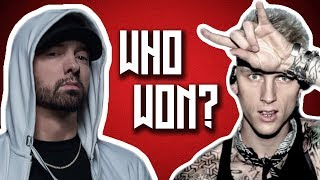 Who Won Between Eminem and Machine Gun Kelly?