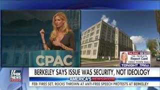 Napolitano on students' lawsuit over Coulter cancellation thumbnail
