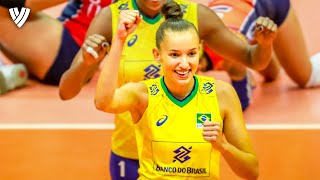 Most BRILLIANT Spikes by Gabi! | OQT 2019 | Highlights Volleyball World