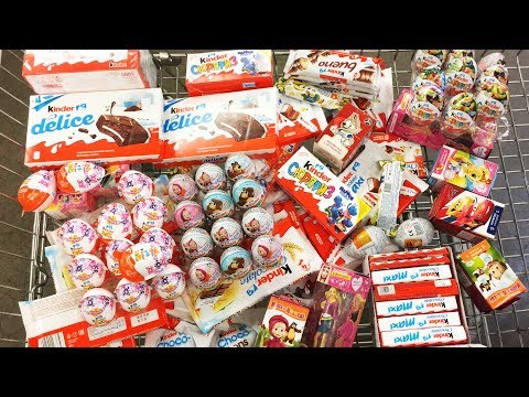 A Lot Of NEW Candy 2018 #52 Киндер...