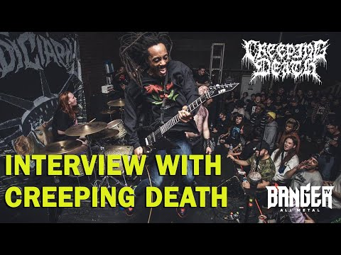 CREEPING DEATH (Trey Pemberton) Interview | BangerTV episode thumbnail