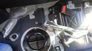 HowTo:  Install Isofix hooks on a Mercedes C Class W203