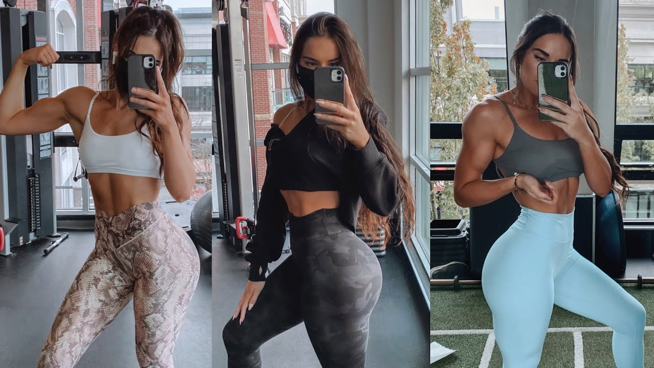 GYM OUTFITS OF THE WEEK || gym outfit ideas || ft. MagicLinks